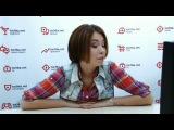 Вэб-конференция с участницей  Х-фактора 3 Юлией Плаксиной В гостях у tochka.net